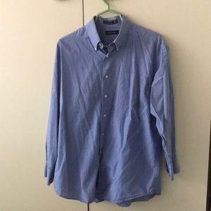 Nautical dress shirt 16.5 32/33